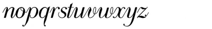 Scribe Classic Font LOWERCASE