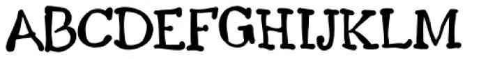 Scribel CE Bold Font UPPERCASE