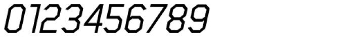 Scriber Medium Italic Font OTHER CHARS