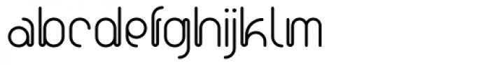 Scripio A Font LOWERCASE