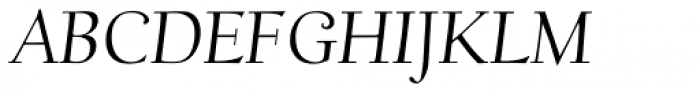Scripps College Old Style Std Italic Font UPPERCASE