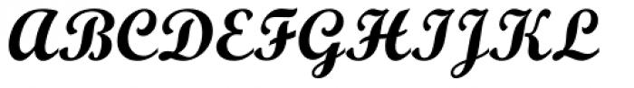 Script Bold MT Font UPPERCASE