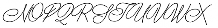 Scripta Book Pro Font UPPERCASE