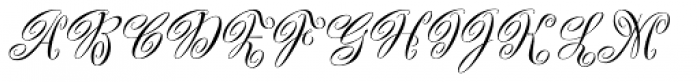 Scriptease Font UPPERCASE