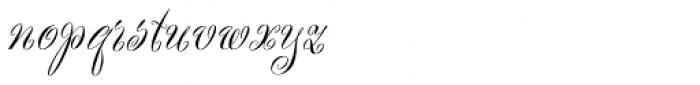 Scriptease Font LOWERCASE