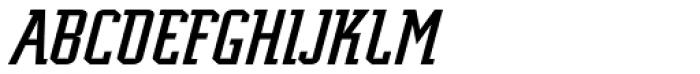 Scriptek Italic Font UPPERCASE