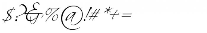 Scriptina Pro Font OTHER CHARS