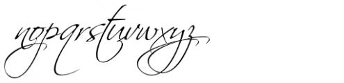 Scriptina Pro Font LOWERCASE