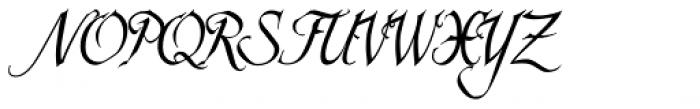 Scriptissimo End Font UPPERCASE