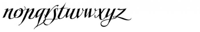 Scriptissimo Forte Start Font LOWERCASE