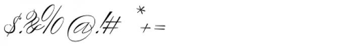 Scriptofino Plus Two Light Font OTHER CHARS