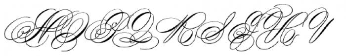 Scriptofino Plus Two Light Font UPPERCASE