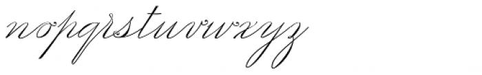 Scriptofino Plus Two Light Font LOWERCASE