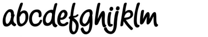 Scriptonah Bold Font LOWERCASE