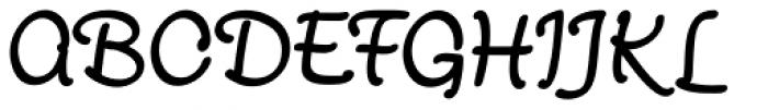 Scriptonah Pro Bold Font UPPERCASE