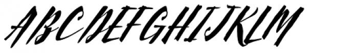 Scriptum Italic Font UPPERCASE