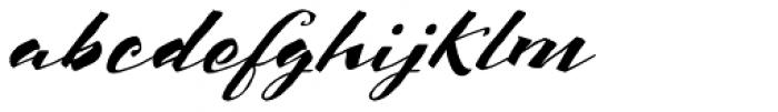 Scriptum Italic Font LOWERCASE