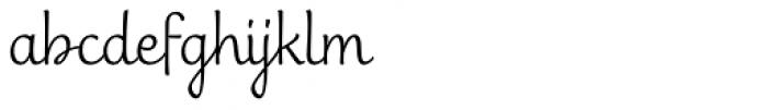 Scritta Nuova Font LOWERCASE