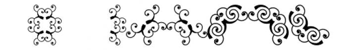 Scrolls 1 Font UPPERCASE