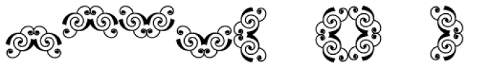 Scrolls 1 Font LOWERCASE
