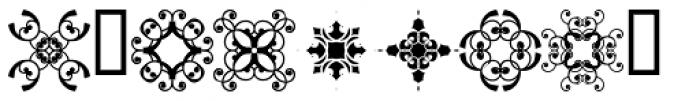 Scrolls 8 Font OTHER CHARS