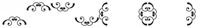 Scrolls 8 Font UPPERCASE