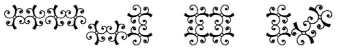 Scrolls 8 Font LOWERCASE