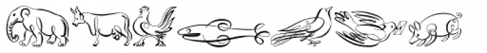 Scrolls A Font UPPERCASE