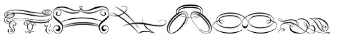Scrolls A Font LOWERCASE