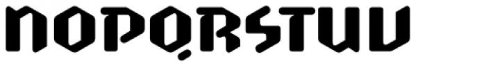 Scrotnig Medium Font UPPERCASE
