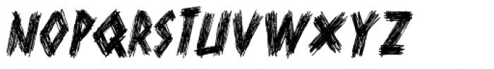 Scurvy Dog Italic Font UPPERCASE