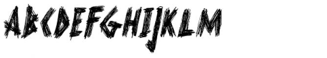 Scurvy Dog Italic Font LOWERCASE