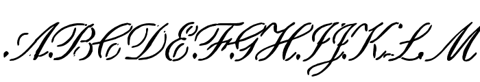 Scritch Font UPPERCASE
