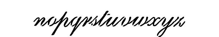 Scritch Font LOWERCASE