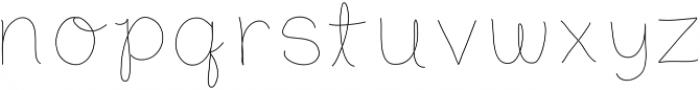 SDDCharis ttf (400) Font LOWERCASE