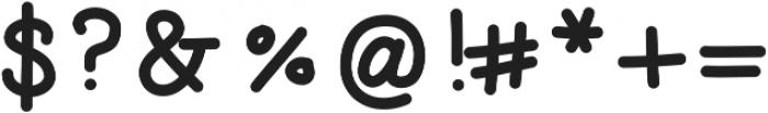 SDDLilFatty ttf (400) Font OTHER CHARS