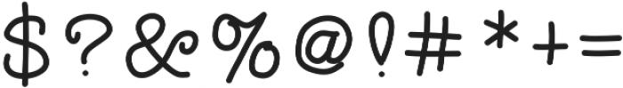 SDDTotTypewriter ttf (400) Font OTHER CHARS