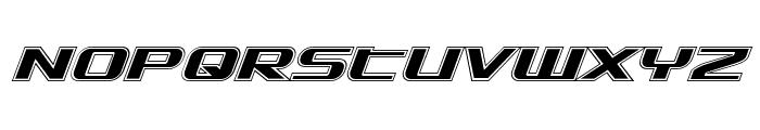 SDF Academy Italic Font UPPERCASE