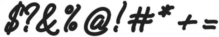 SENELLA otf (400) Font OTHER CHARS