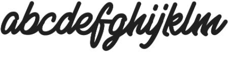 SENELLA otf (400) Font LOWERCASE