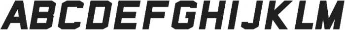 Sea Dog Bold Italic ttf (700) Font LOWERCASE
