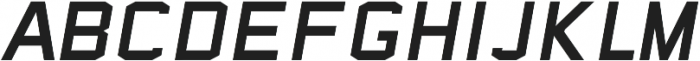 Sea Dog Italic ttf (400) Font UPPERCASE