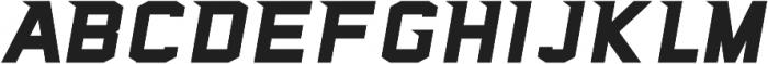 Sea Dog Swift Bold Italic otf (700) Font UPPERCASE