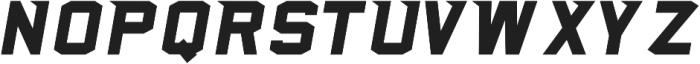 Sea Dog Swift Bold Italic otf (700) Font LOWERCASE