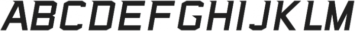 Sea Dog Swift Italic ttf (400) Font LOWERCASE