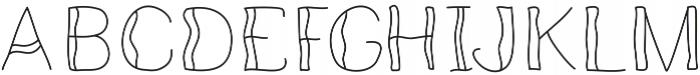 Seabreezelight ttf (300) Font UPPERCASE