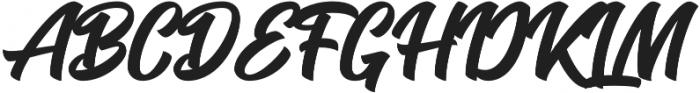 Seact Clean Regular otf (400) Font UPPERCASE