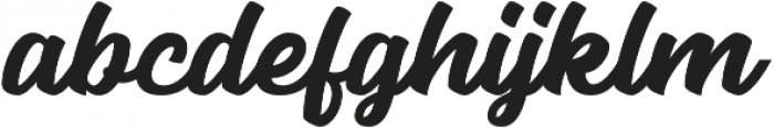 Seact Clean Regular otf (400) Font LOWERCASE