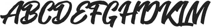 Seact Rough Regular otf (400) Font UPPERCASE