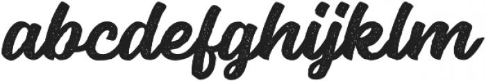 Seact Rough Regular otf (400) Font LOWERCASE